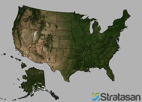 Stratasan's Favorite Map Projection